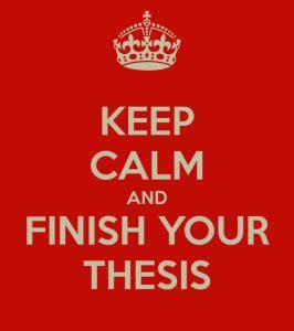 Phd comics writing your thesis
